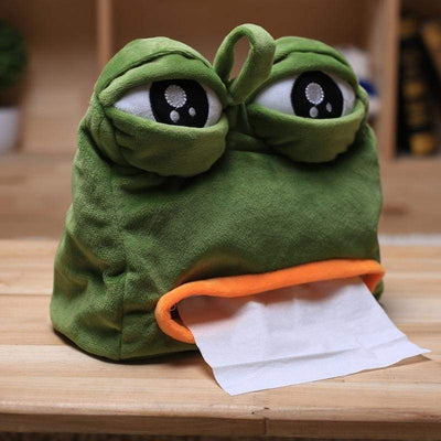 Frog-P Tissue Box - BubsKicks