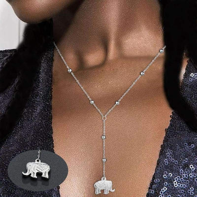 Luck-Elephant Necklace - BubsKicks