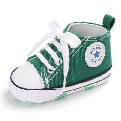 Star Kicks - Green - BubsKicks