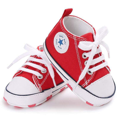 Star Kicks - Red - BubsKicks