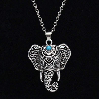 Vintage Elephant Necklace - BubsKicks