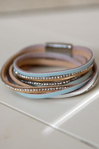 Multi Strap Leather Bracelet