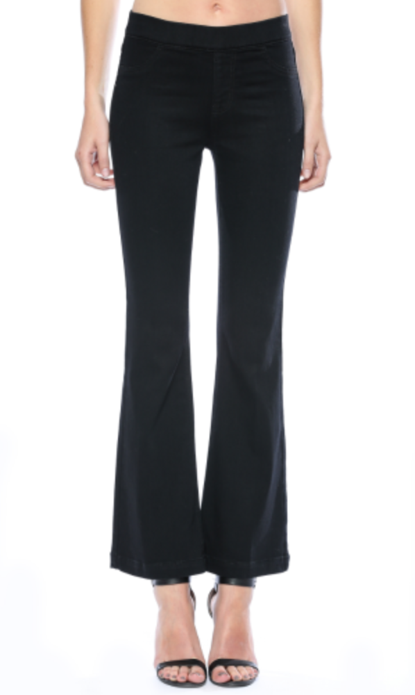 Black Flare Pants (For Short Girls)