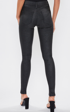 Black Snake Skinny Pants