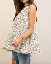 Natural Baby Doll Top