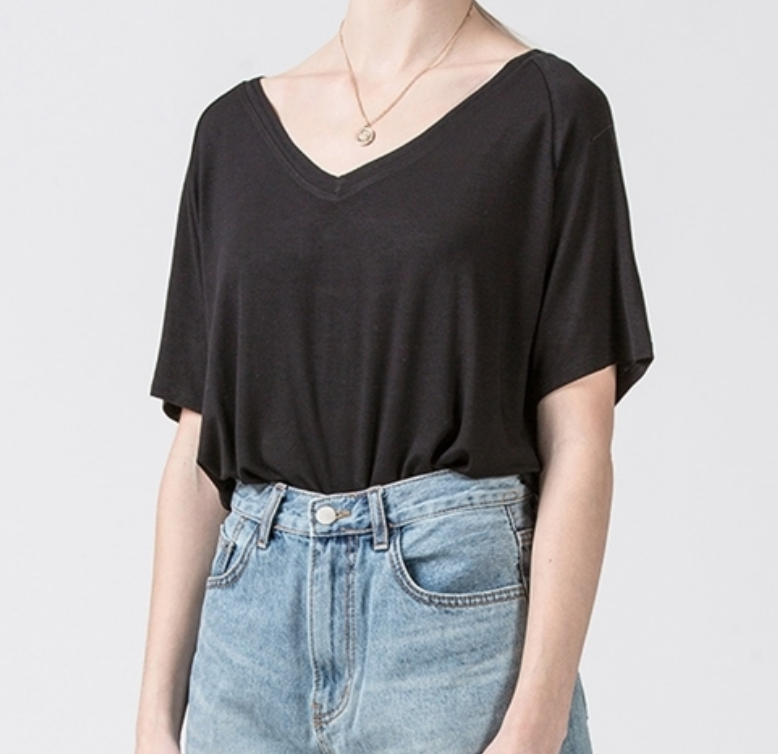 Black Casual Top