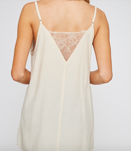 Cream Lace Camisole