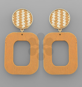 Natural Gold Earrings