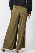 Olive Wide Legged Pants