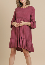 Plumberry Bell Sleeve Dress