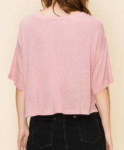 Dessert Rose Crop Top
