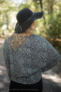 Black Leopard Long Sleeve