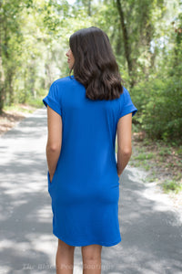 Royal T Shirt Dress