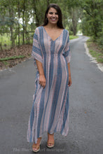 Printed Cover Up Dress