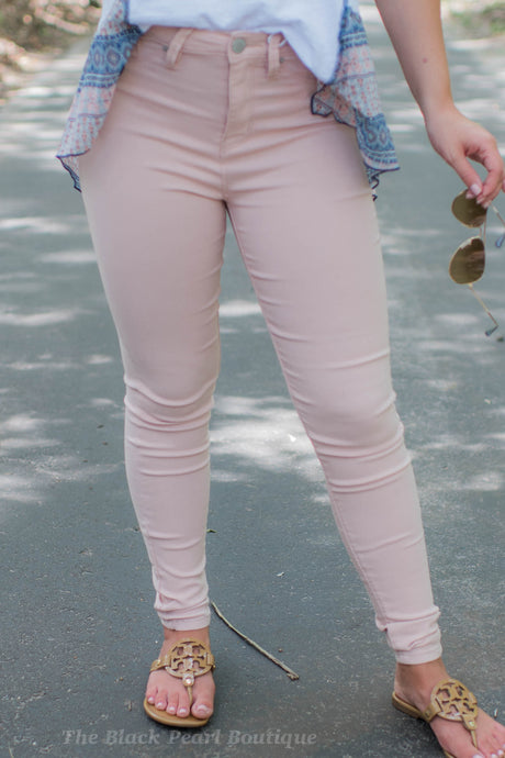 Rosette No Muffin Top High Rise Skinny Pants