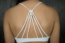White Strappy Back Bralette