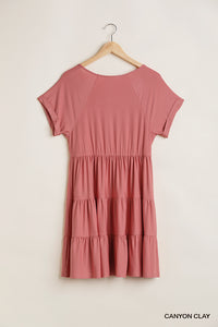 Clay V Neck Dress