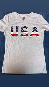 Gray USA short sleeve