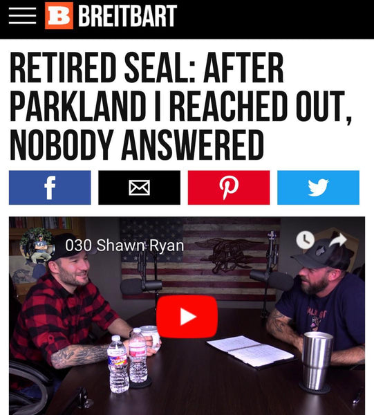 Breitbart Reports - Retired SEAL: 'After Parkland, I Reached Out' and 'Nobody Wanted to Take Me Up'