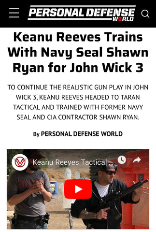 Shawn Ryan Personal Defense World