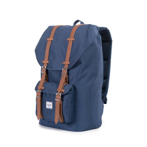 Herschel del Little America Backpack - Navy Tan