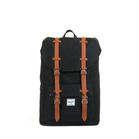 Herschel Little America Mid Volume - Black Tan