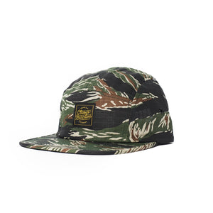 a30709aead6 OG Lettering 5 Panel Cap - Tiger Camo