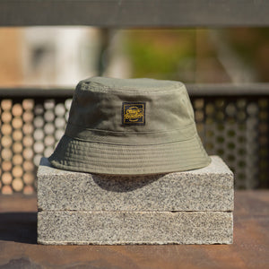 OG Lettering Bucket Hat - Army