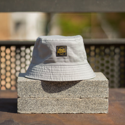 OG Lettering Bucket Hat - Light Grey