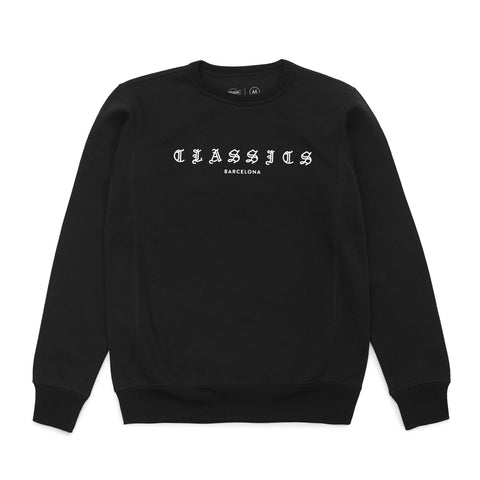G Quarter Crewneck - Black