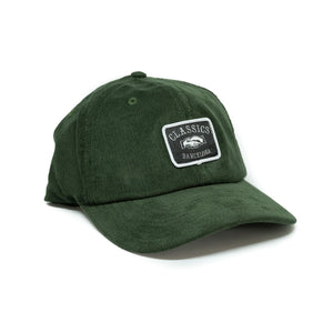 Triple F Cord Soft Cap - Forest Green