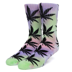 Drip Dye Plant Life Socks - Purple
