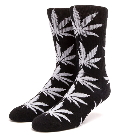 Essentials Plant Life Socks - Black & Glow In The Dark