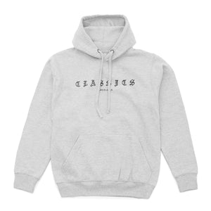 G Quarter Hoodie - Heather Grey