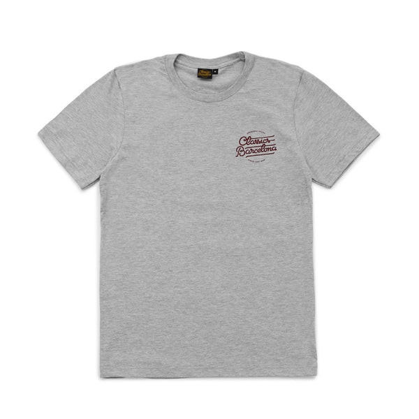 Lettering Tee - Heather Grey