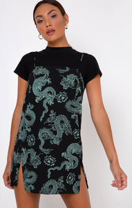 Tista Dress - Dragon Flower
