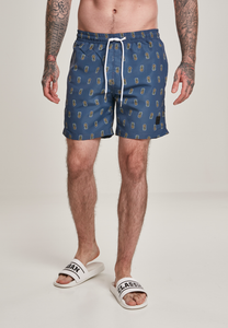 Pineapple Swim Shorts - Vintage Blue