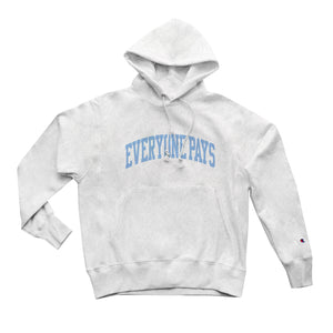 Everyone Pays Blue University Hoodie