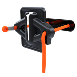 Skipper magnetic & cord strap holder/receiver