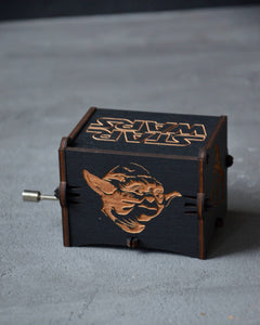 Boyfriend Star Wars Gift Personalized Wooden Music Box Custom Star Wars Musical Box 5th Wooden Anniversary Husband Gift Son Custom Gift