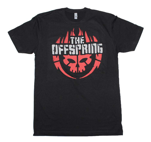 The Offspring Skull Logo T-Shirt