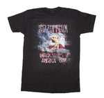Led Zeppelin USA 77 with Flag T-Shirt