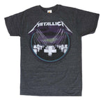 Metallica MOP Vintage Black Heather T-Shirt