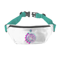 Blink 182 Smiley White Fanny Pack