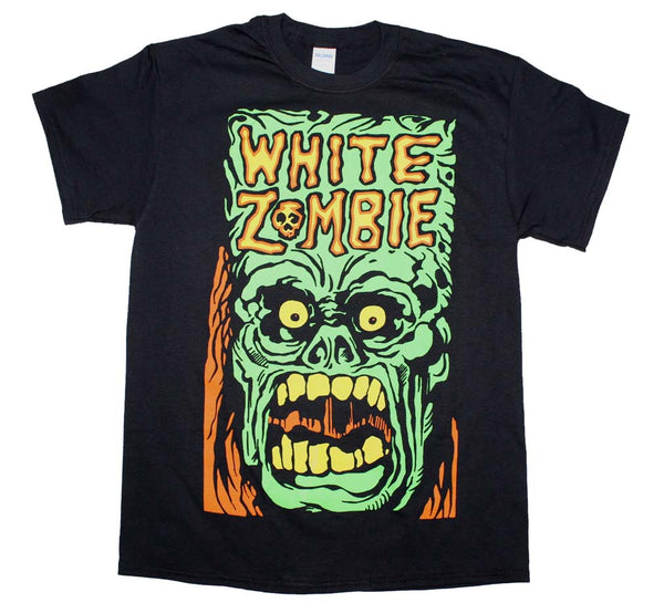 White Zombie Monster Yell T-Shirt