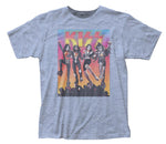 KISS Vintage Inspired Destroyer Fitted Jersey T-Shirt