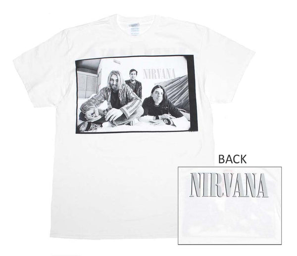 Nirvana Black & White Photo T-Shirt