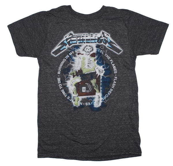 Metallica Electric Chair Heather T-Shirt