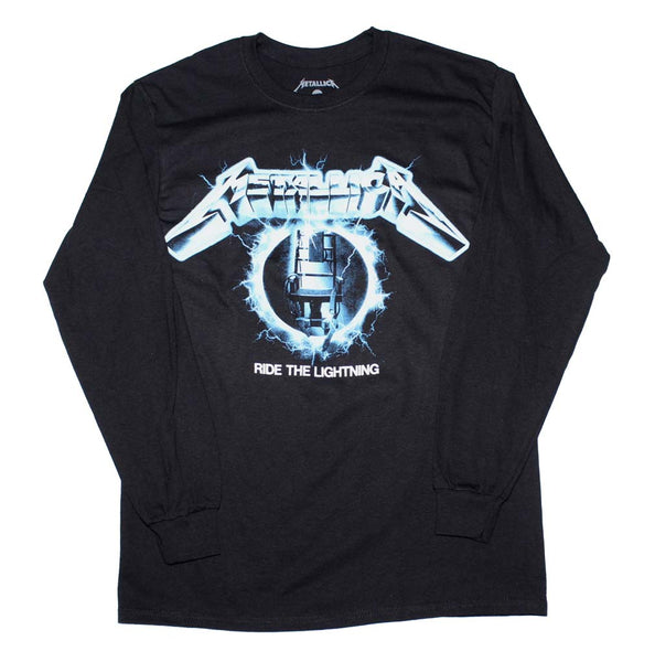 Metallica Ride the Lightning Long Sleeve T-Shirt