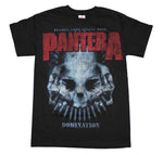 Pantera Domination Distressed Print T-Shirt